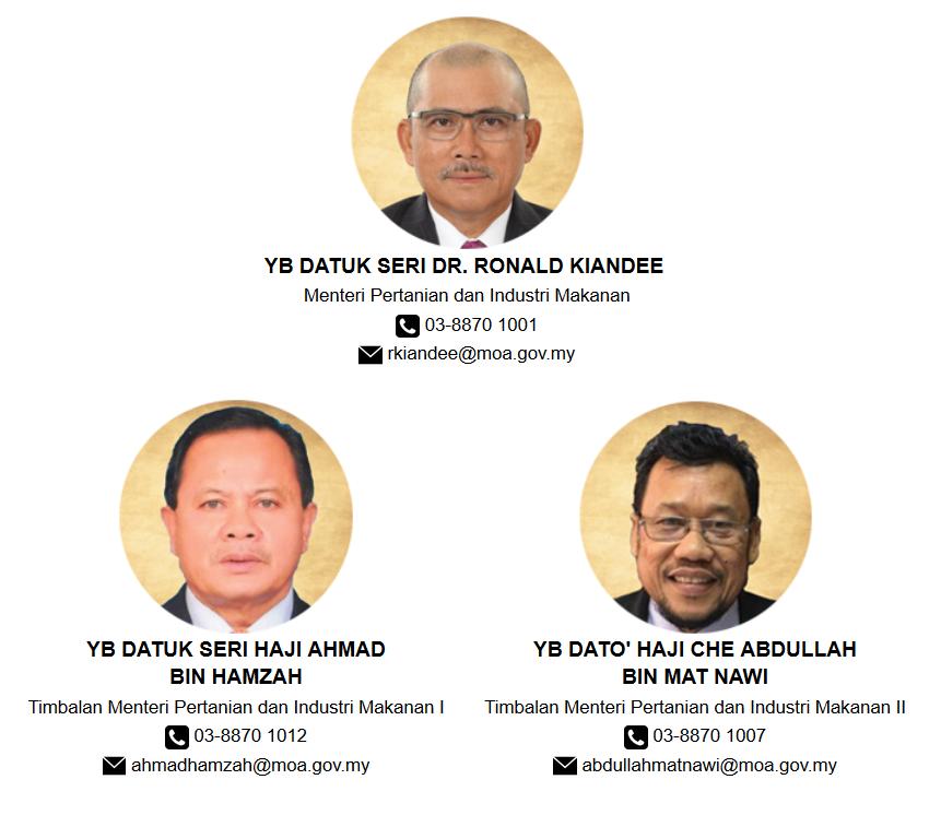 Profil Menteri Lembaga Kemajuan Ikan Malaysia
